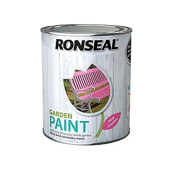 Ronseal Garden Paint Pink Jasmine 750ml RSLGPPJ750