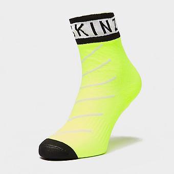 New Sealskinz Men's Waterproof Warm Weather Ankle Length Socks Yellow