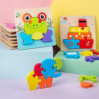 Bambini Puzzle 3d Stereo- Intelligenza Sviluppo Ragazzi e Ragazze