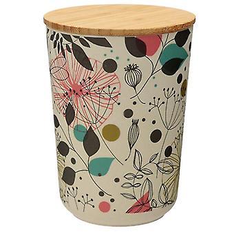 Wisewood Botanical Bamboo Storage Jar, Medium