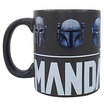 Mandalorian Mug Bounty Hunter Helmets new Official Black Boxed