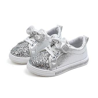 Baby Sequins Bowknot Crystal Run Sport Sneakers Shoes