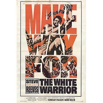 The White Warrior Movie Poster (11 x 17)