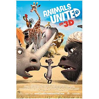 Tiere United Movie Poster (11 x 17)