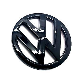 Kiilto musta VW Volkswagen Scirocco Edessä Grilli Bonnet Badge Tunnus Huppu 2009 lähtien