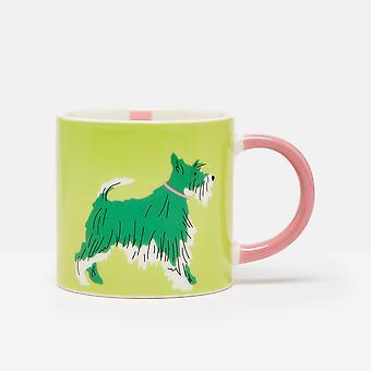 Joules Dog Mug, Light Green