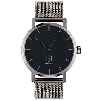 BeWooden Titan Watch - Gris/Negro