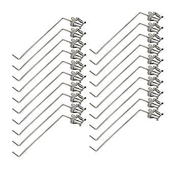 20 Pack Baryton Marching Lyre 3/4 Vertical Keys Music Sheet Clips Spare