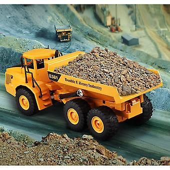 Electric Remote Control Dumper Toy, Rc Engineering Dump Truck