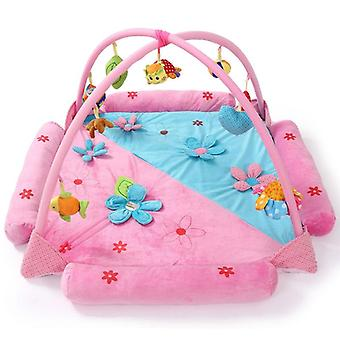 Gimnasios de actividad del bebé juegan alfombrilla, estante educativo niño fitness alfombra