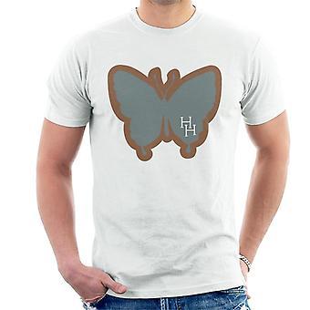 Holly Hobbie Butterfly Silhouette Miesten't-paita