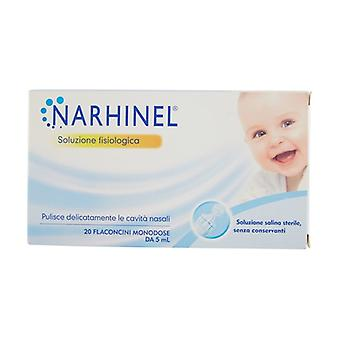 NARHINEL Physiological (OTC) 20 vials of 5ml
