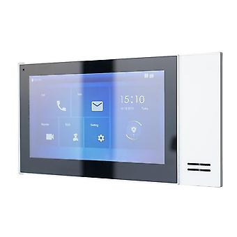Multi-language 7inch Touch Indoor, Ip Doorbell Video Intercom Monitor (avec