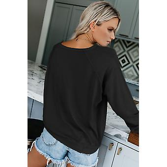 French Terry Cotton Blend Sweatshirt