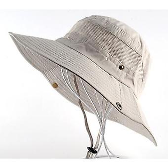 Sonnenhut Männer & Eimer Hüte Frauen Sommer Mütze & breite Krempe Uv Schutz Klappe Hut