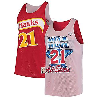 Mitchell & Ness Reversible Atlanta Hawks Dominique Wilkins Tank Top ASGSCWH1