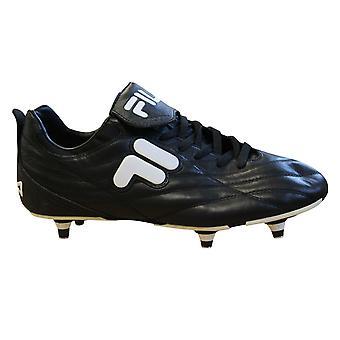 Fila Soccer Calcio Italia Euro Cup Soft Ground Mens Football Boots 12Z849LX 005