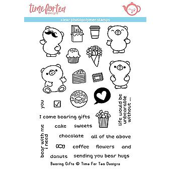 Time For Tea Bearing Gifts Clear Stamps