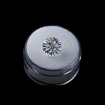 Brilliant Round Shape Cut Gh Color Moissanite Gemstone