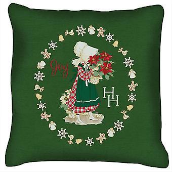 Holly Hobbie Christmas Joy Cushion