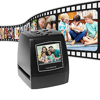 Scanner de filme Aibecy, protable negativo 35mm 135mm slide film converter foto digital visualizador de imagem digital wi