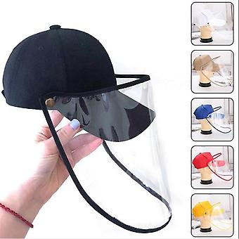Casual Protective Adjustable Hat With Face Shield