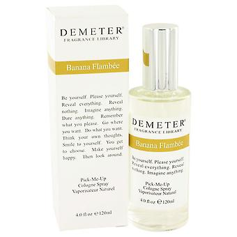 Demeter Banana Flambee Cologne Spray By Demeter 4 oz Cologne Spray