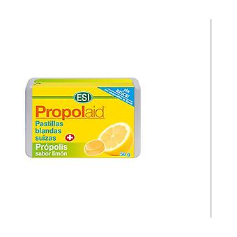 Propolaid Lemon flavor soft propolis pills 50 g (Lemon)