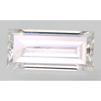 Sertifioitu 0,25 karat D VVS2 patonki Enhanced Natural Loose Diamond 5.3x2.45mm