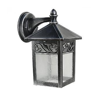 Lámpara De Pared Winchcombe, Plata Negra