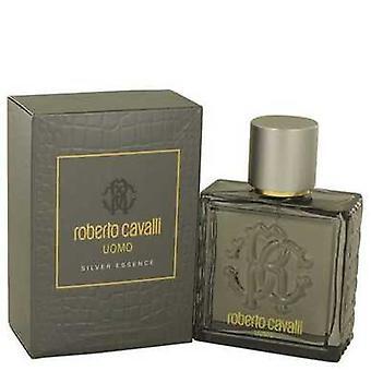 Roberto Cavalli Uomo Silver Essence De Roberto Cavalli Eau De Toilette Spray 3.4 Oz (hombres) V728-538763