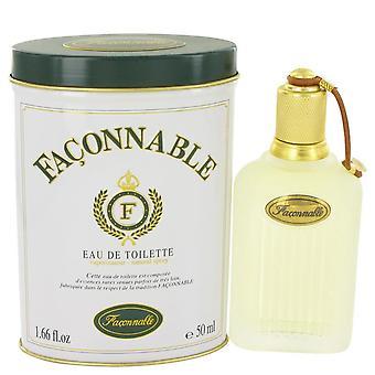 Faconnable Eau De Toilette Spray By Faconnable 1.7 oz Eau De Toilette Spray