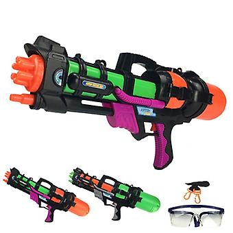 "24"" Jumbo Blaster Water Gun With Straps Goggles, Beach Squirt Toy"