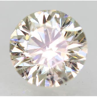 Gecertificeerd 0.23 Karaat I VVS2 Ronde Brilliant Enhanced Natural Diamond 3.93mm 3EX