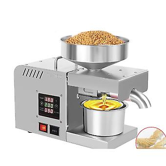 Intelligent Control, Automatic Oil Press And Stainless Steel Presser Sunflower