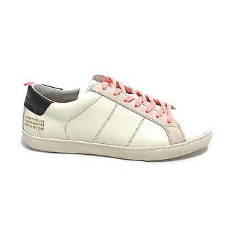 حذاء رياضي طموح للرجال 10398a Leather/ جلد الغزال الأبيض / رمادي Us21am01