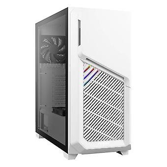 Antec Dp502 Flux White High Airflow Atx Tempered Glass