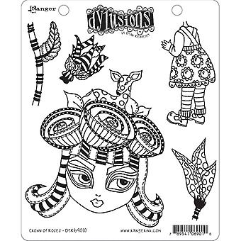 Dylusions by Dyan Reaveley - Cling Stamp Sets - Corona de rosas