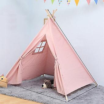 الأطفال & غرفة الأميرة خيمة داخلية لعب البيت للطي لعبة خيمة, حجم:1.35m (الوردي)