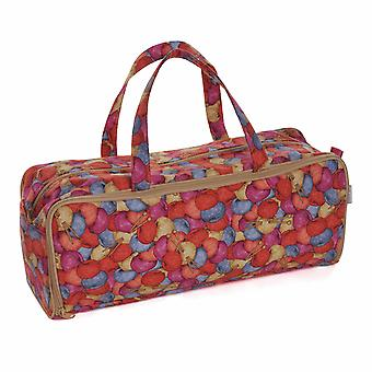 Hobby Gift Knitting Bag with Pin Case: Knit 'n' Purl