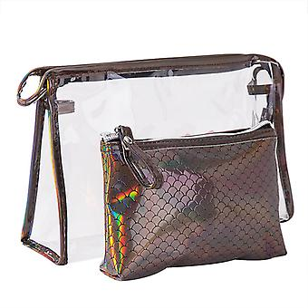 Fish Scale Travel Toiletry Bag Wallet