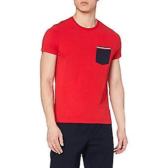 טומי הילפיגר קרל C-NK טי S / S RF חולצת טריקו, אדום (מאדים אדום), איש קטן