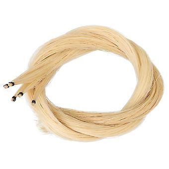 40-40.5Inch 5 Hanks Viola Beige Mongol Cheval Bow Hair Pièces de violon