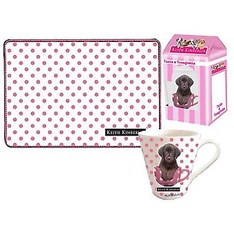 Keith Kimberlin Keith Dogs Gift Kitchen Beker + Placemat