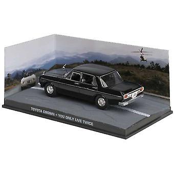 Toyota Crown S40 Diecast modell bil från James Bond man lever bara två gånger