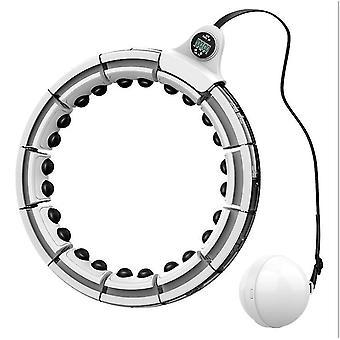 Aro hula giratório inteligente, terapia magnética fitness perda de peso massageador de barriga az6917