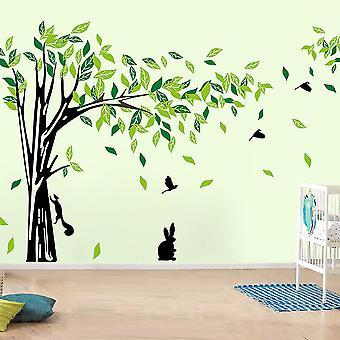 Regenboghorn Huge Tree Wall Decal Sticker For Living Room And Bedroom