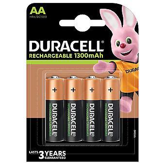 Duracell HR6-B AA 1300mAh Dobíjecí 4 balení