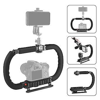 Action Stabilizer Grip, Flash Bracket Holder Handle, Professional Video