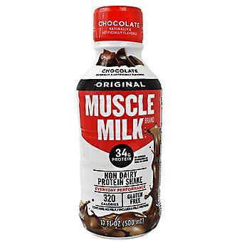 Cytosport MUSCLE MILK RTD, Chocolate 12 / 17 oz